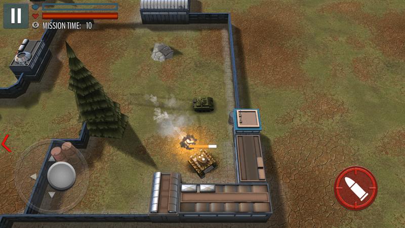 Скриншот #12 из игры Tank Battle: WW2 Game - Modern World of Shooting