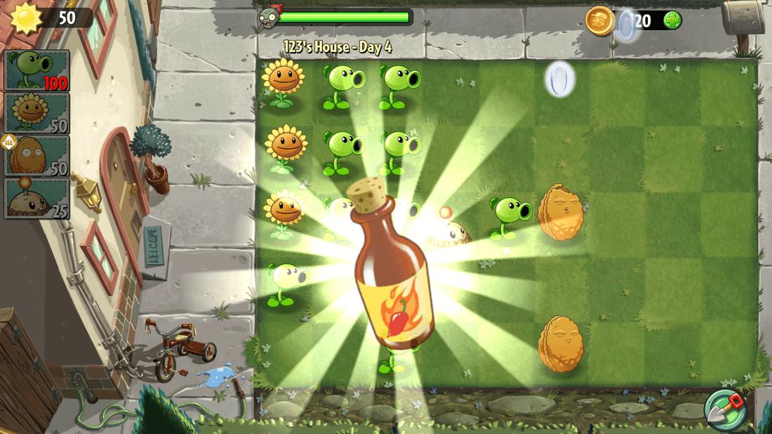 Скриншот #8 из игры Plants vs. Zombies 2