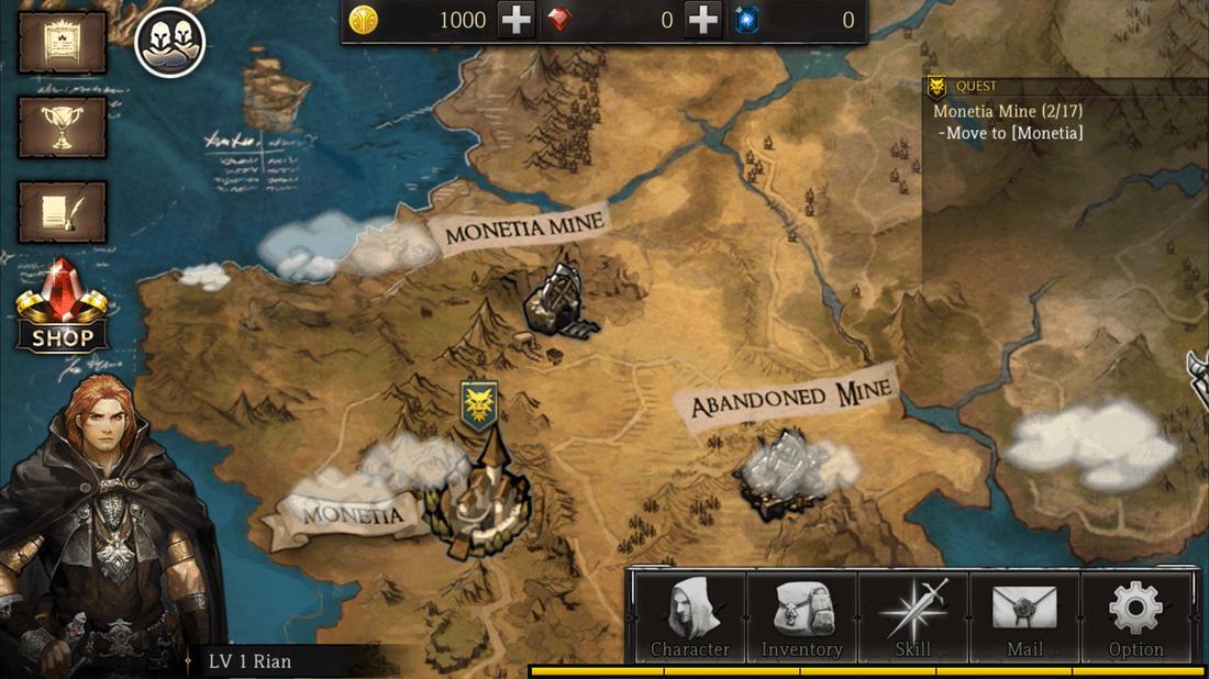 Скриншот #6 из игры Rogue Hearts