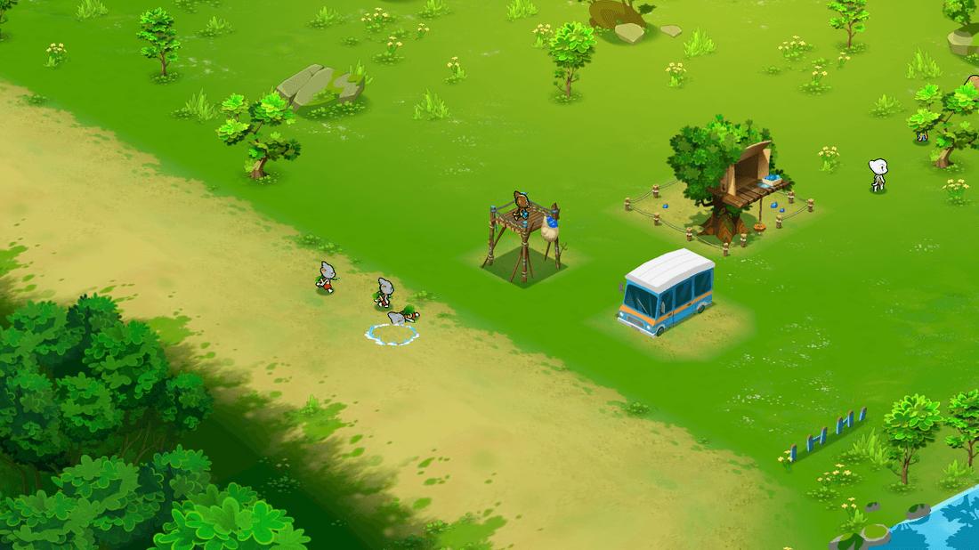 Скриншот #4 из игры Talking Tom Camp