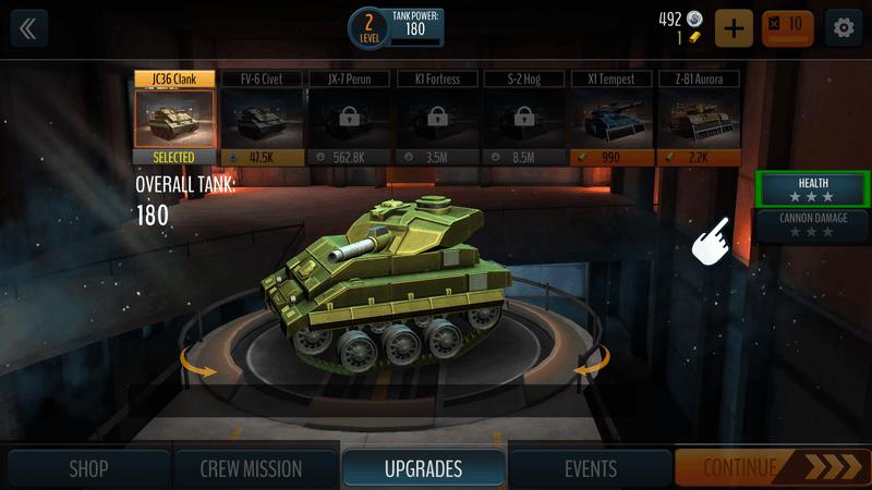 Скриншот #6 из игры Tank Battle: WW2 Game - Modern World of Shooting