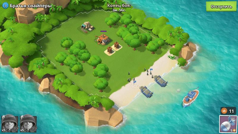 Скриншот #19 из игры Boom Beach