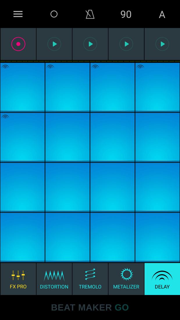 Скриншот #1 из программы Drum Pads - Beat Maker Go
