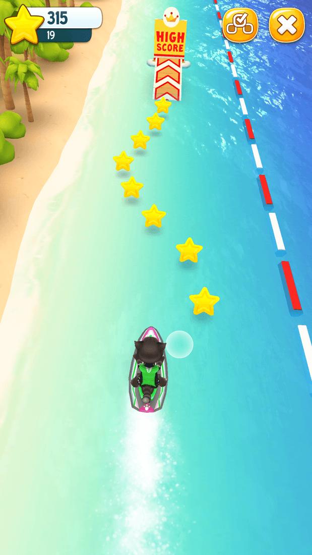 Скриншот #6 из игры Talking Tom Jetski