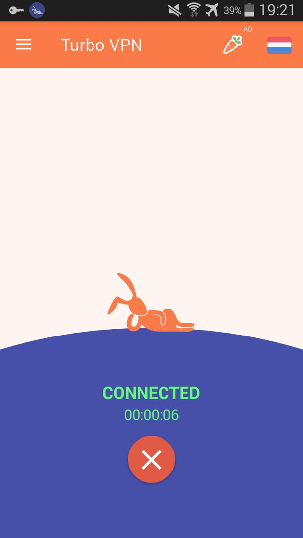 Скриншот #2 из программы Turbo VPN – Unlimited Free VPN