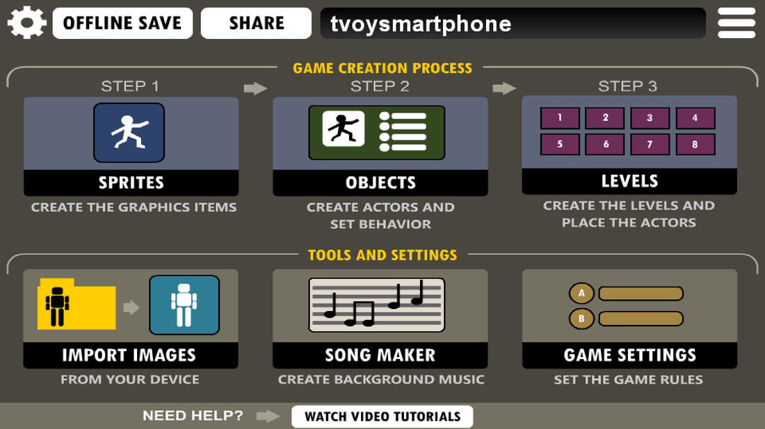 Скриншот #5 из программы Game Creator