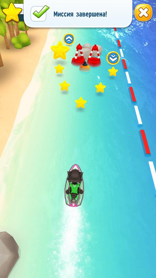 Скриншот #7 из игры Talking Tom Jetski
