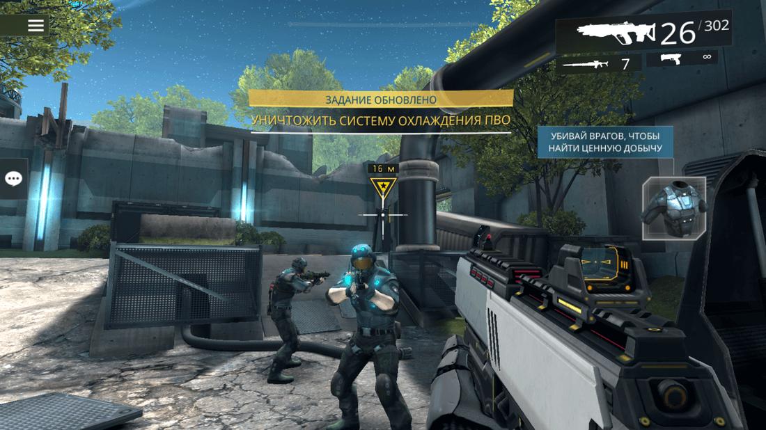 Скриншот #7 из игры SHADOWGUN LEGENDS