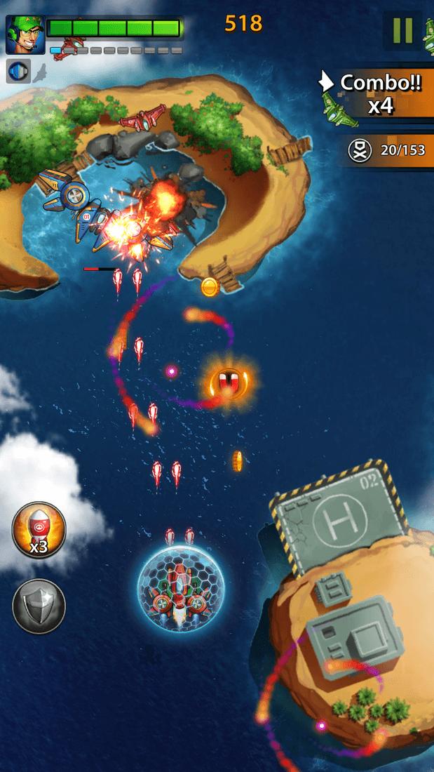 Скриншот #10 из игры Space X: Galaxy War of Air Force