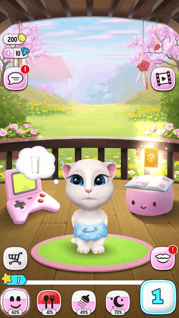 Скриншот #8 из игры My Talking Angela