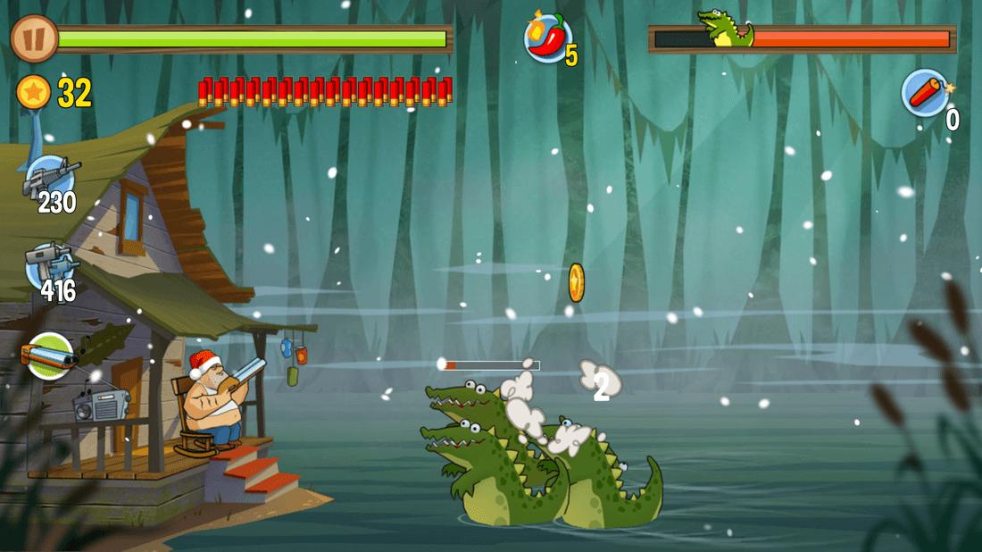 Скриншот #13 из игры Swamp Attack