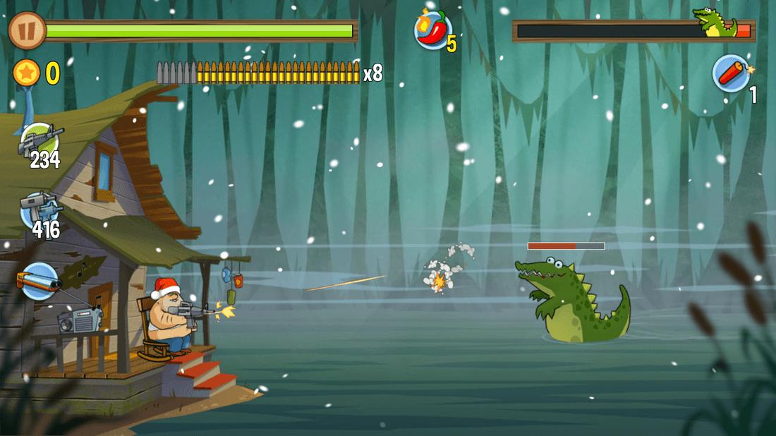 Скриншот #14 из игры Swamp Attack