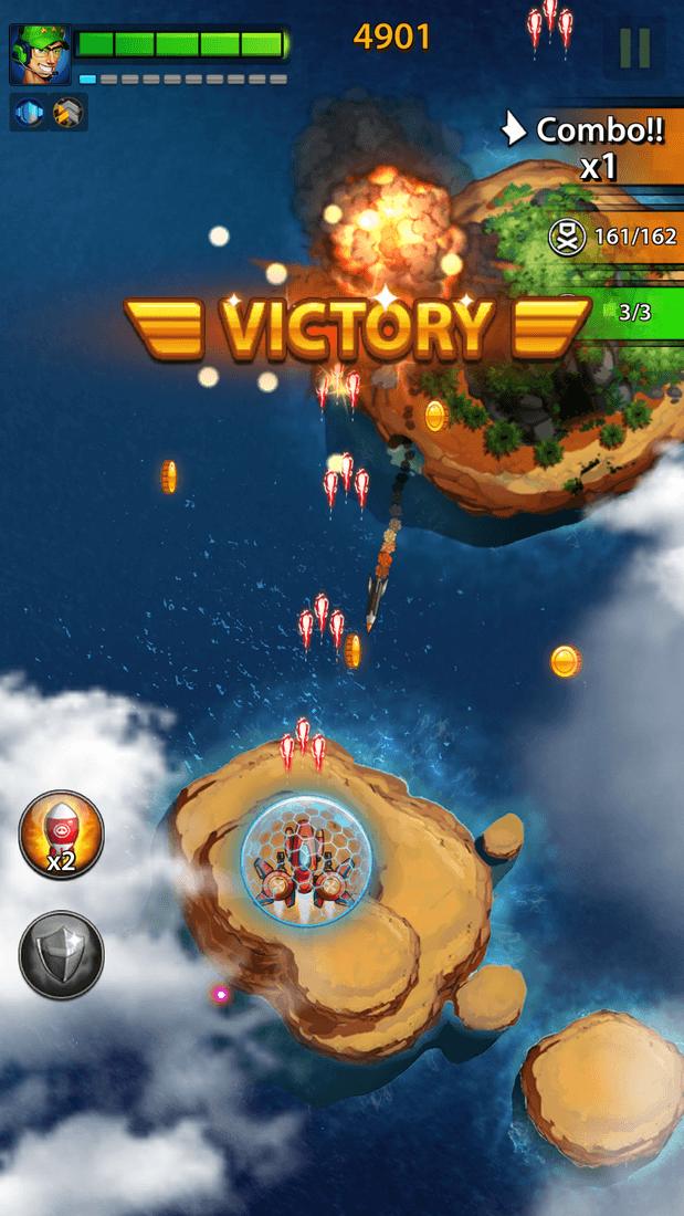 Скриншот #13 из игры Space X: Galaxy War of Air Force