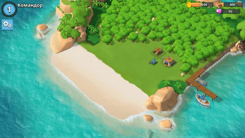 Скриншот #1 из игры Boom Beach