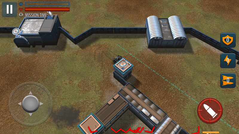 Скриншот #1 из игры Tank Battle: WW2 Game - Modern World of Shooting