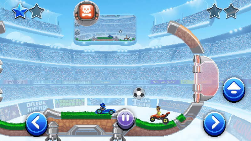 Скриншот #4 из игры Drive Ahead! Sports