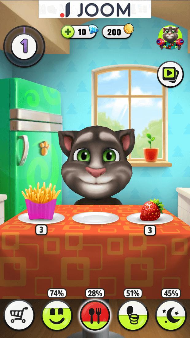 Скриншот #2 из игры Talking Tom Cat