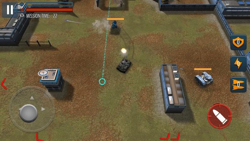 Скриншот #3 из игры Tank Battle: WW2 Game - Modern World of Shooting