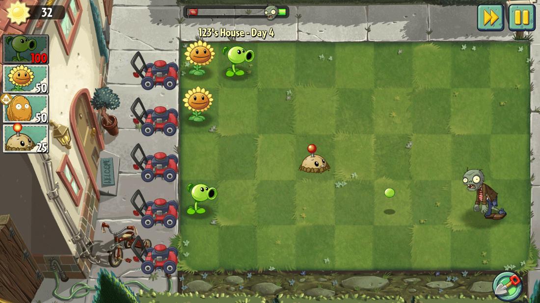 Скриншот #9 из игры Plants vs. Zombies 2