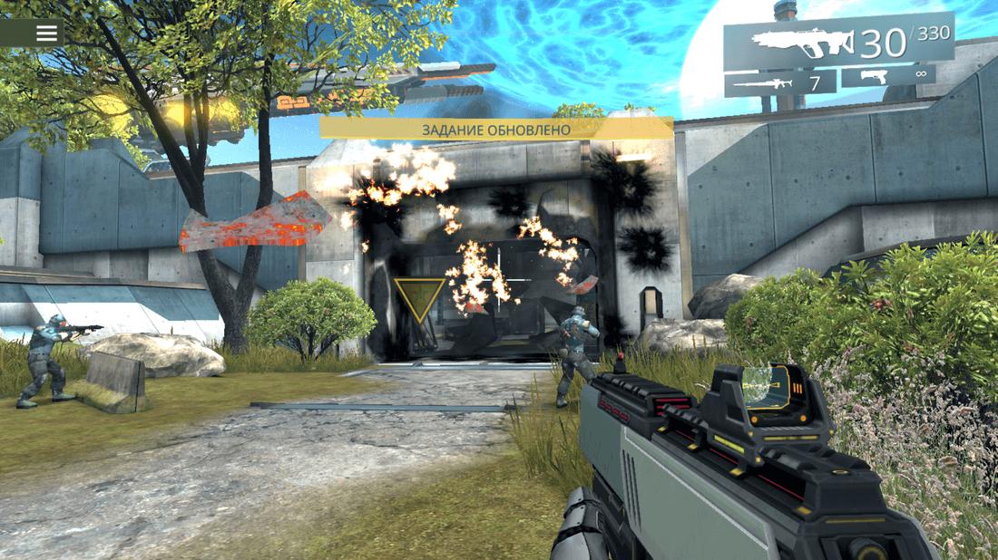 Скриншот #5 из игры SHADOWGUN LEGENDS
