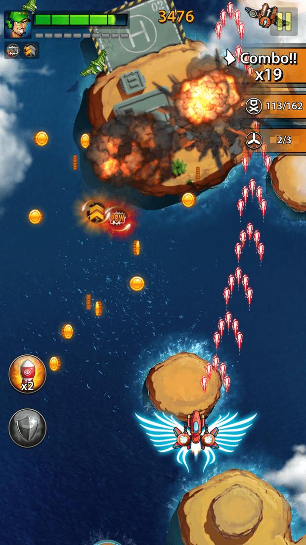 Скриншот #15 из игры Space X: Galaxy War of Air Force