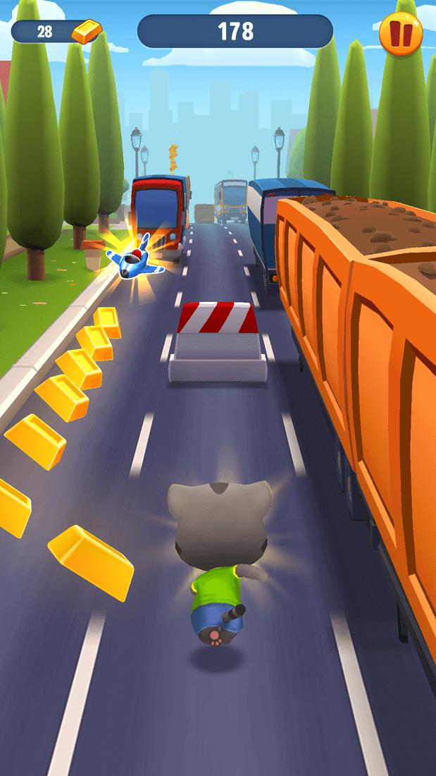 Скриншот #14 из игры Talking Tom Gold Run