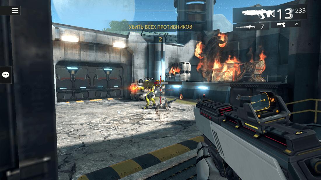Скриншот #9 из игры SHADOWGUN LEGENDS