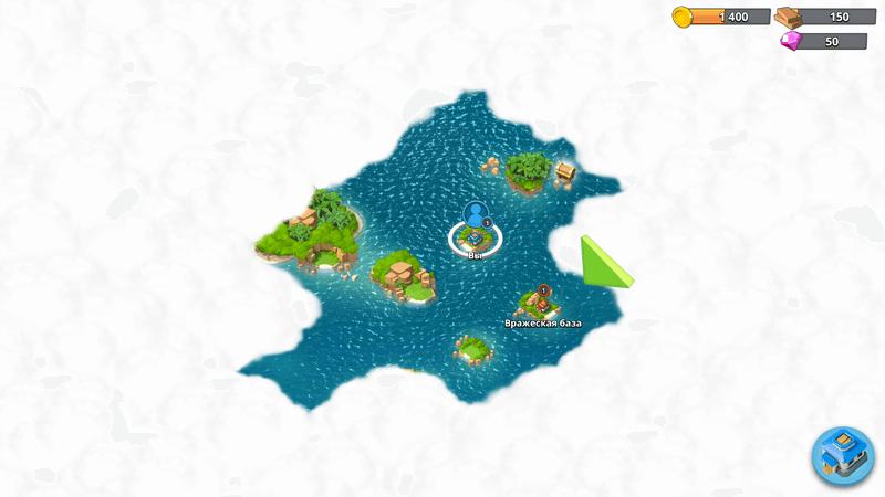 Скриншот #5 из игры Boom Beach