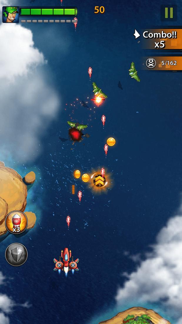 Скриншот #16 из игры Space X: Galaxy War of Air Force
