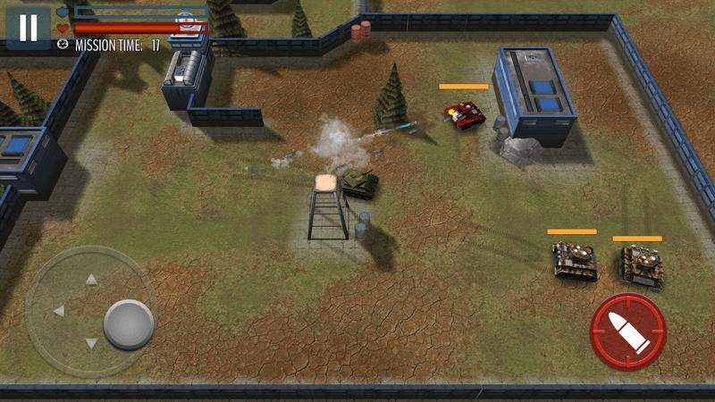 Скриншот #16 из игры Tank Battle: WW2 Game - Modern World of Shooting