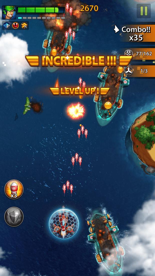 Скриншот #17 из игры Space X: Galaxy War of Air Force