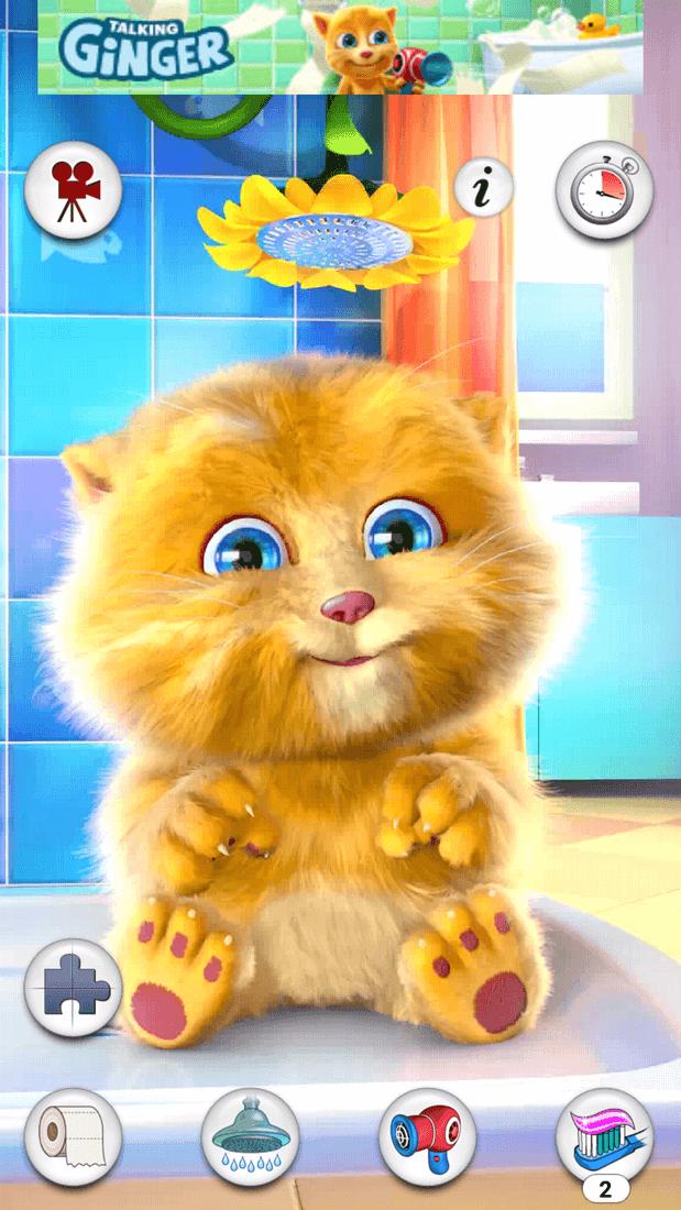 Скриншот #11 из игры Talking Ginger