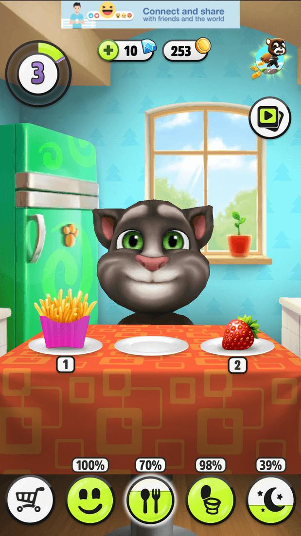 Скриншот #7 из игры My Talking Tom