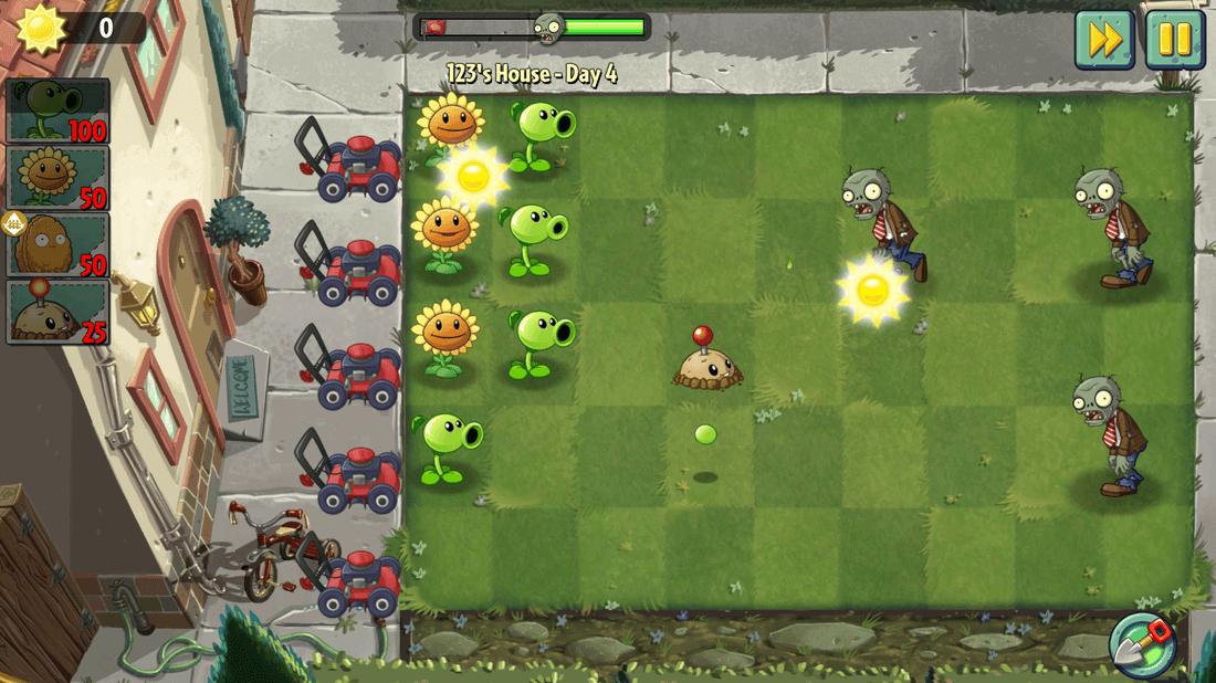 Скриншот #11 из игры Plants vs. Zombies 2