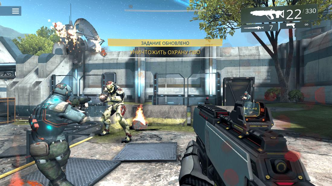 Скриншот #6 из игры SHADOWGUN LEGENDS