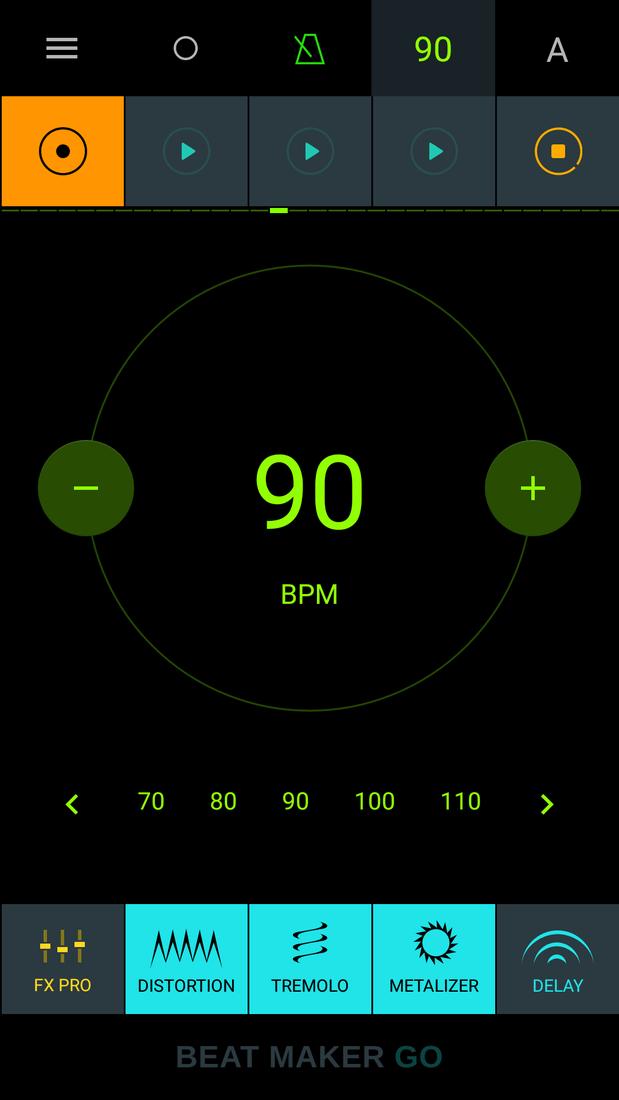 Скриншот #4 из программы Drum Pads - Beat Maker Go