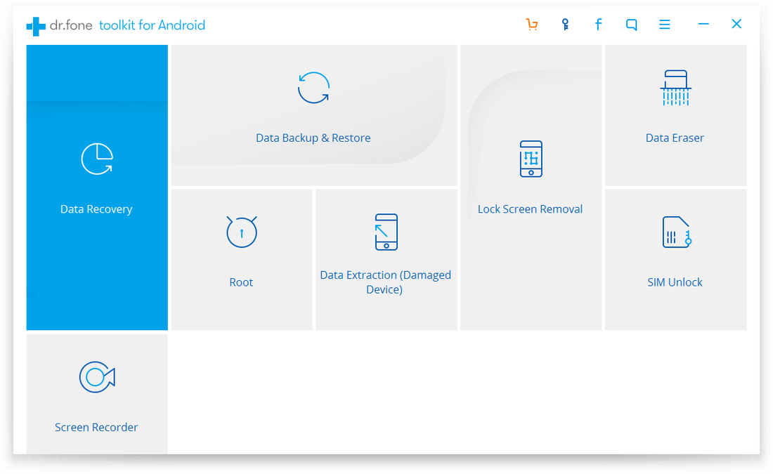 Скриншот #3 из программы dr.fone toolkit for Android