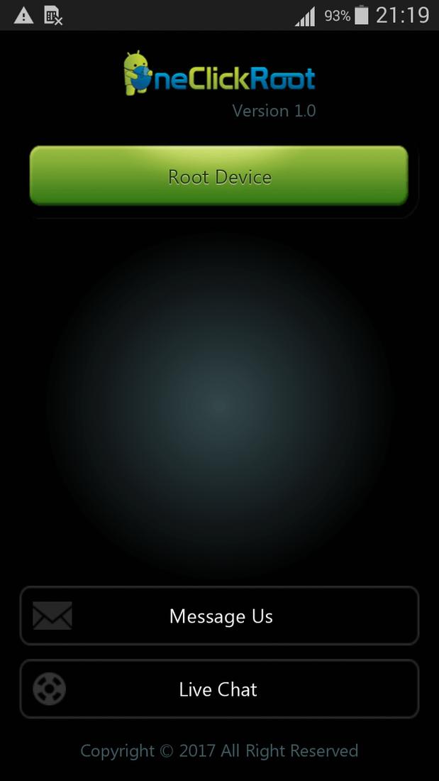 Скриншот #2 из программы One Click Root
