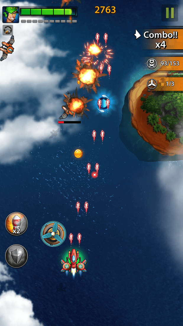 Скриншот #18 из игры Space X: Galaxy War of Air Force