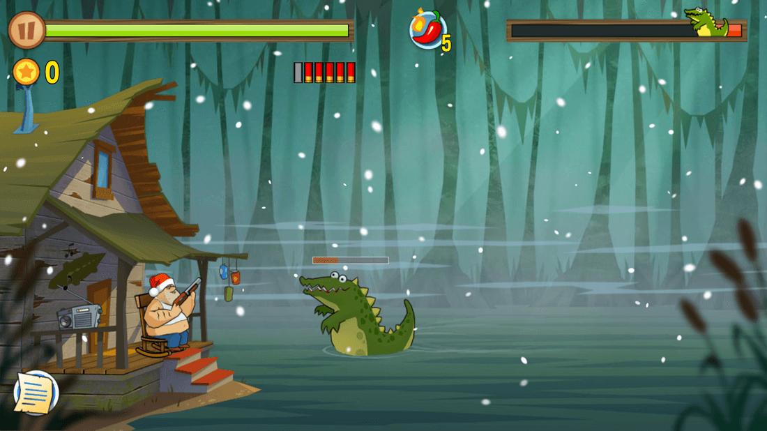 Скриншот #18 из игры Swamp Attack
