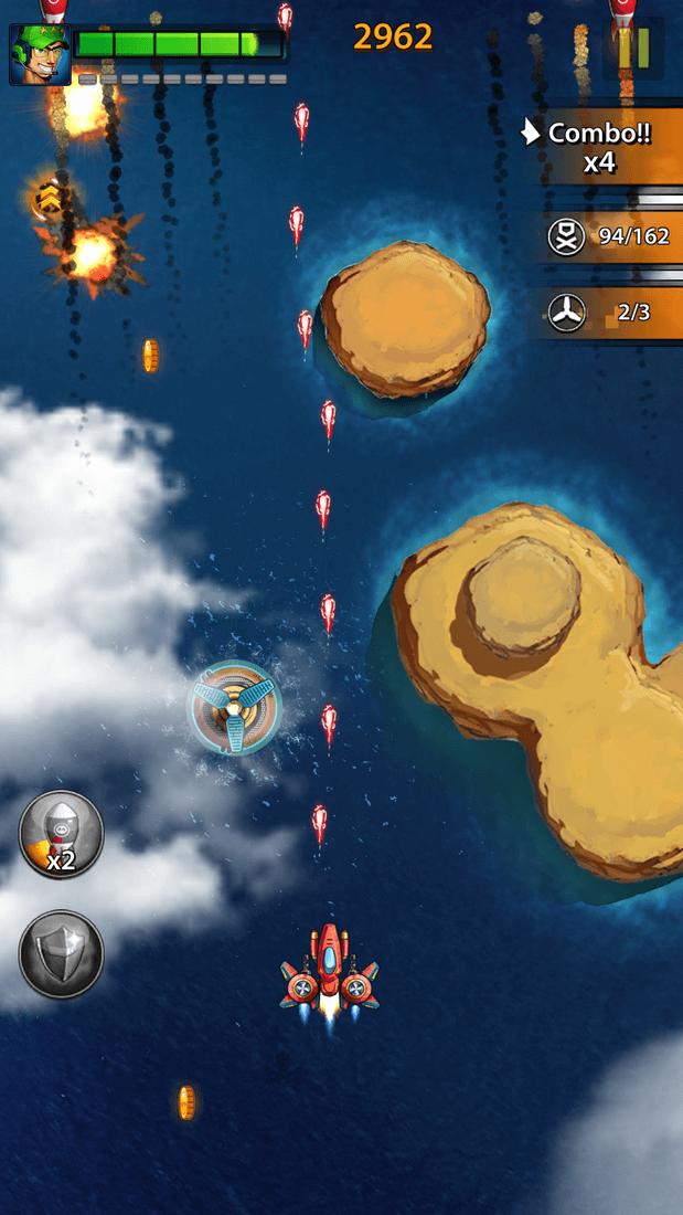 Скриншот #19 из игры Space X: Galaxy War of Air Force