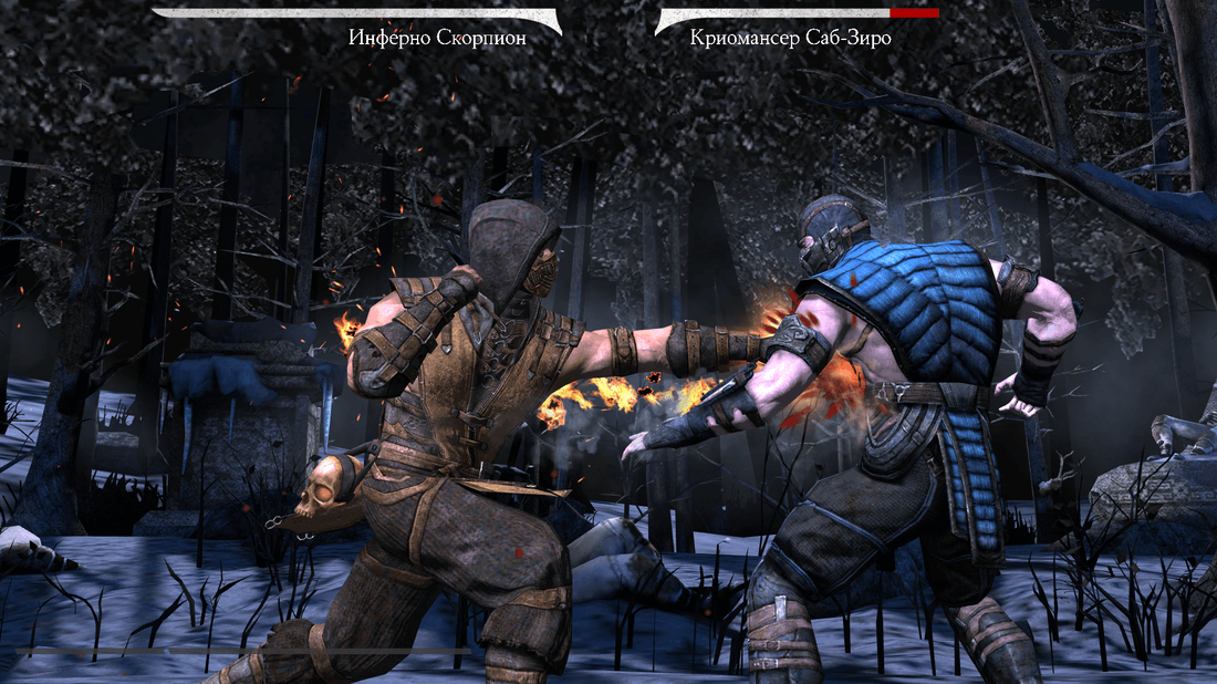 Скриншот #2 из игры MORTAL KOMBAT X