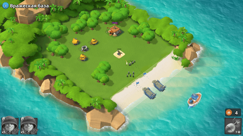 Скриншот #6 из игры Boom Beach