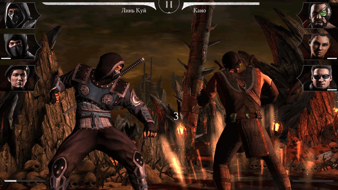 Скриншот #26 из игры MORTAL KOMBAT X