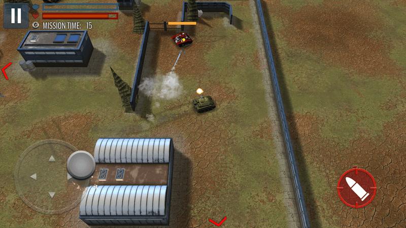 Скриншот #19 из игры Tank Battle: WW2 Game - Modern World of Shooting