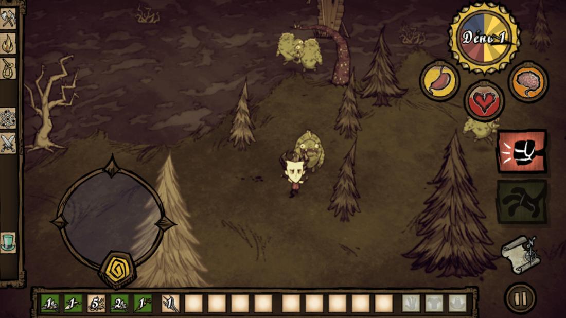Скриншот #17 из игры Don\'t Starve: Pocket Edition