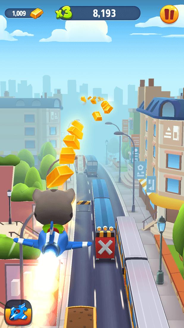 Скриншот #18 из игры Talking Tom Gold Run