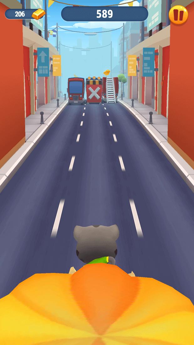 Скриншот #20 из игры Talking Tom Gold Run