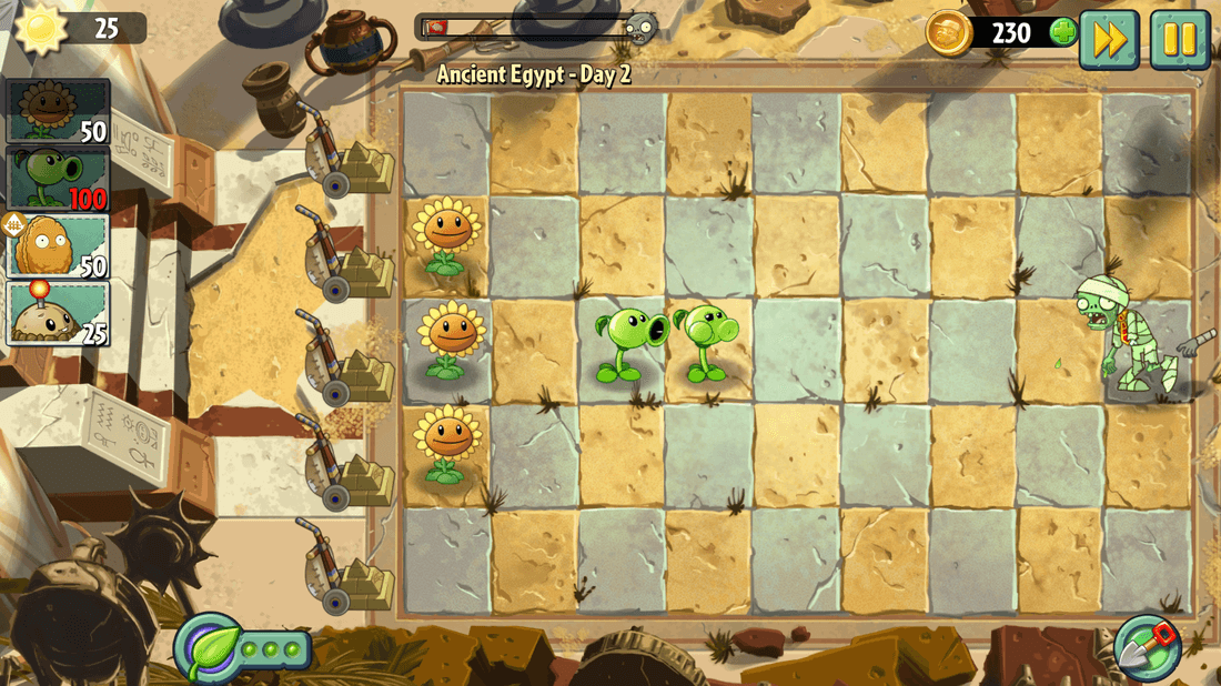 Скриншот #13 из игры Plants vs. Zombies 2