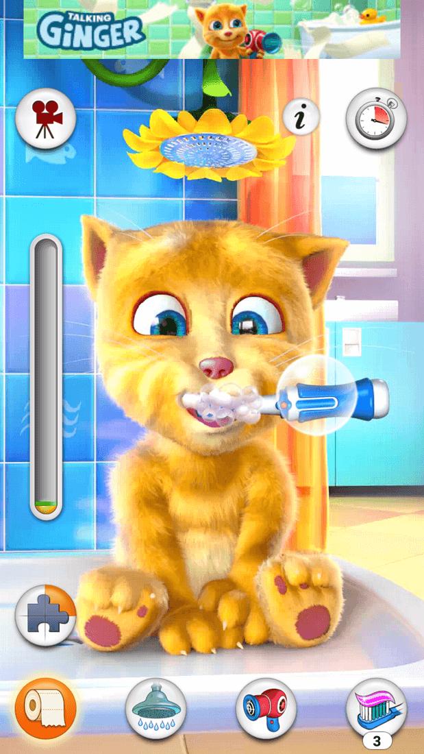 Скриншот #7 из игры Talking Ginger
